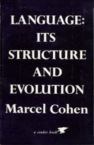 9780846411567: Language: Its Structure and Evolution
