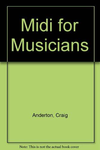 9780846426097: Midi for Musicians