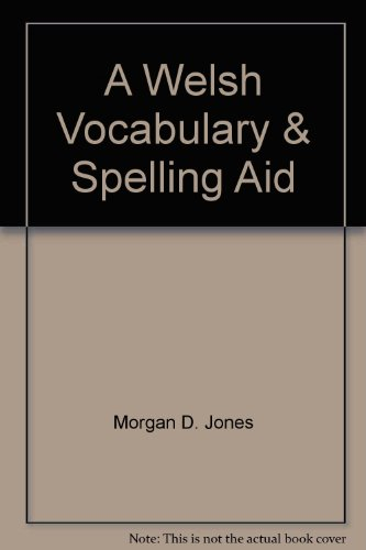 9780846447245: A Welsh Vocabulary & Spelling Aid