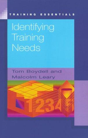 9780846450719: Identifying Training Needs