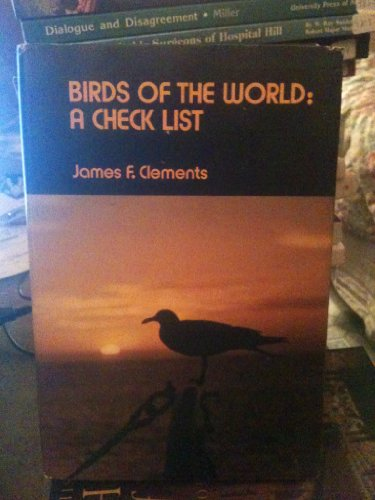 9780846701231: Birds of the world: A check list