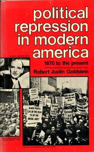 9780846703013: Political repression in modern America from 1870 to the present