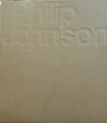 Architecture 1949-1965: Johnson, Philip; Hitchcock, Henry-Russell, introduction