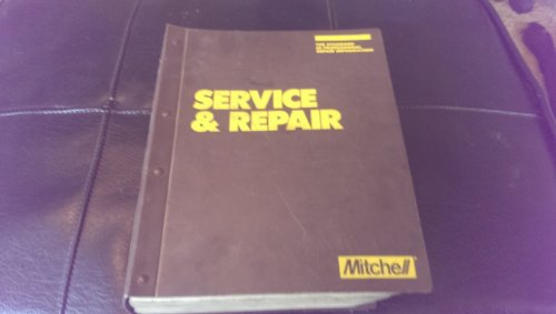 Mitchell Mechanical Labor Estimasting Guide -- Five Volume Set -- Domestic Cars 1974-90 / ...