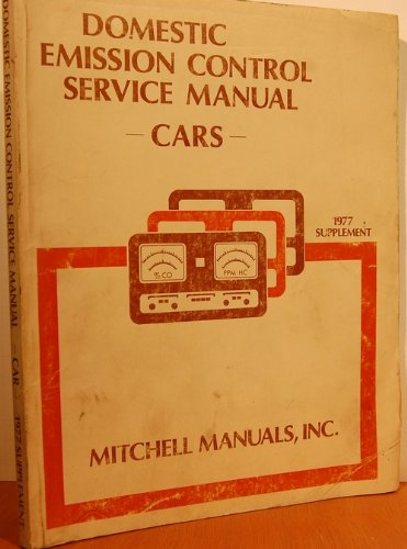 Mitchell Emission Control Service & Repair (For: Jerry Cole, ed.
