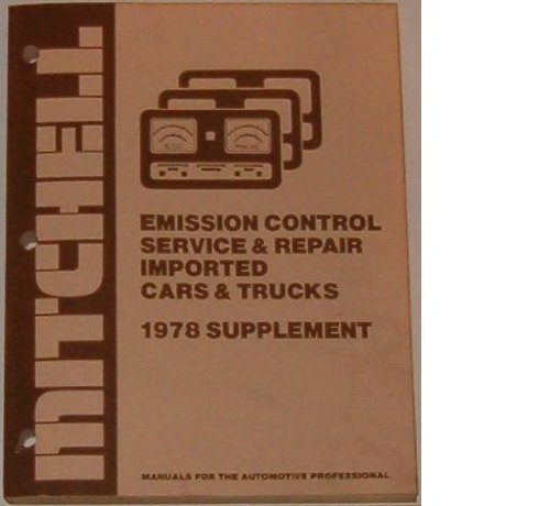 Mitchell Emission Control Service & Repair (For: Jerry Cole (Editor)