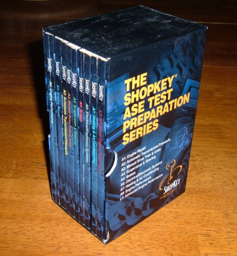 The Mitchell ASE Test Preparation Series (9 volumes): n/a