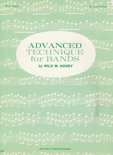 9780847102099: Advanced Technique for Bands: Percussion