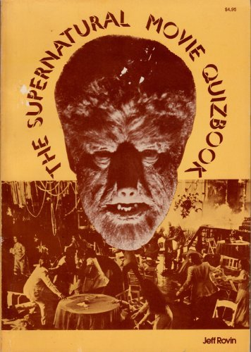 The supernatural movie quizbook: Rovin, Jeff