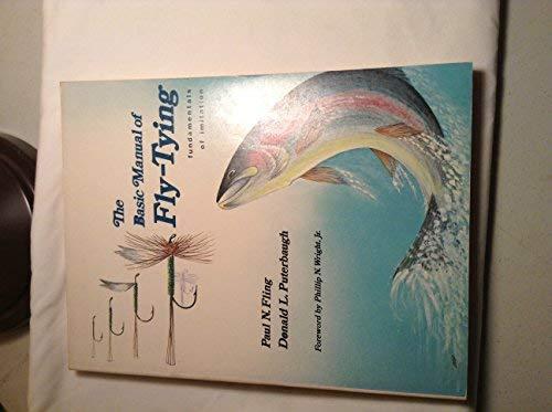 9780847315703: The basic manual of fly-tying: Fundamentals of imitation