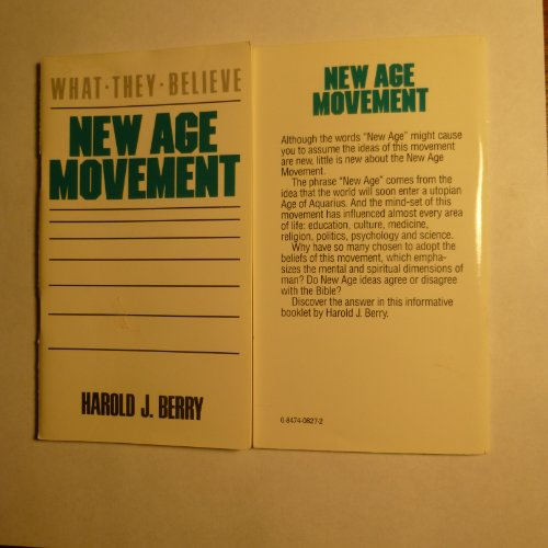 9780847408276: New Age Movement (What they believe)