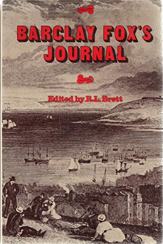 Barclay Fox's Journal. 1st American Ed.