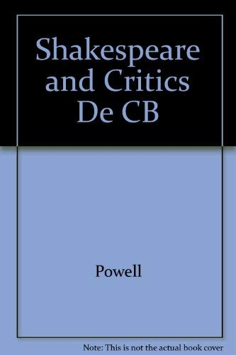 9780847662272: Shakespeare and the Critics' Debate: A Guide for Students