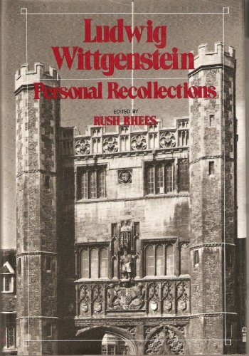 9780847662531: Ludwig Wittgenstein: Personal Recollections