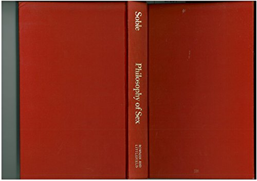 9780847662920: Philosophy of Sex: Contemporary Readings