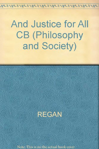 9780847670604: And Justice for All...: New Introductory Essays in Ethics and Public Policy (Philosophy and Society)