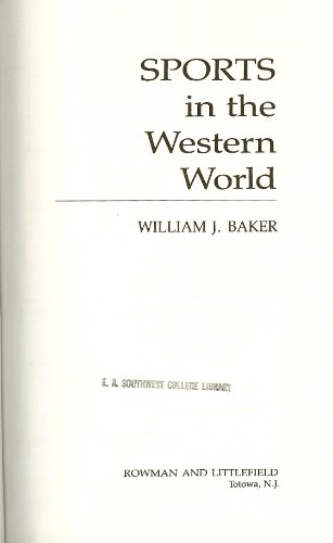 9780847670758: Sports in the Western World