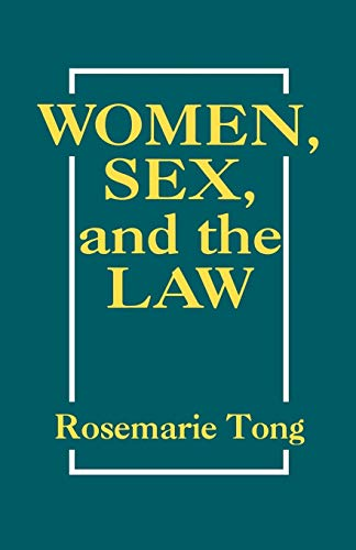 9780847672318: Women, Sex, and the Law (New Feminist Perspectives)