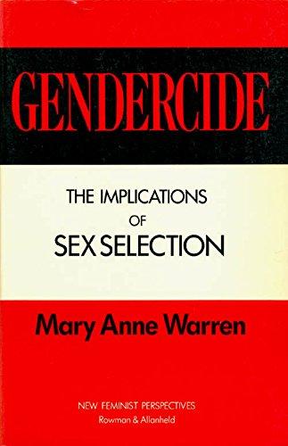 9780847673346: Gendercide