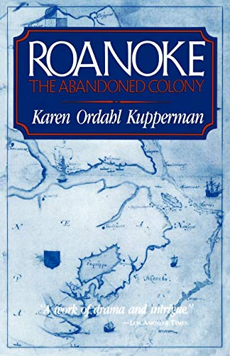 9780847673391: Roanoke: The Abandoned Colony
