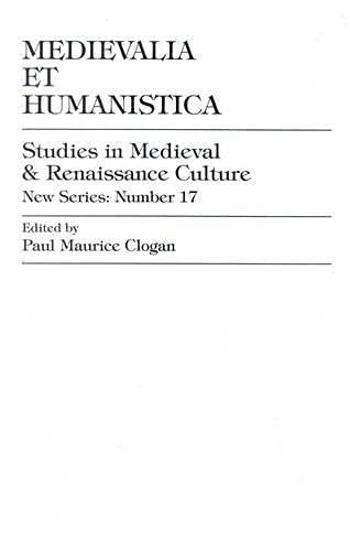 9780847676583: Medievalia et Humanistica, No.17