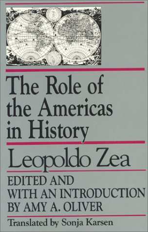 9780847677207: The Role of the Americas in History