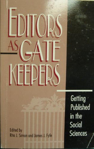 9780847679133: Editors as Gatekeepers