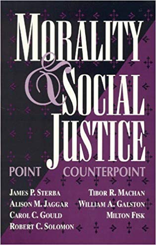 9780847679782: Morality and Social Justice: Point/Counterpoint
