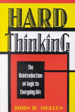 9780847680023: Hard Thinking
