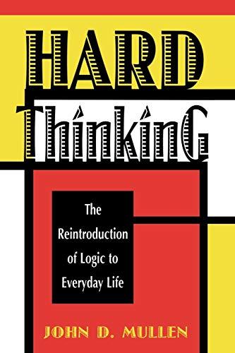9780847680030: Hard Thinking
