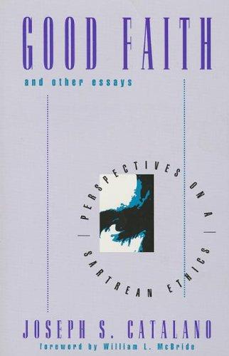 9780847680887: Good Faith and Other Essays