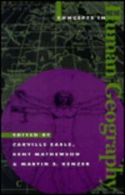 9780847681051: Concepts in Human Geography