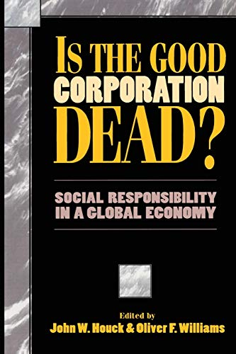 9780847682096: Is the Good Corporation Dead?