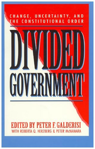 Divided Government: Peter F. Galderisi,