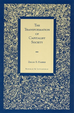 9780847684113: The Transformation of Capitalist Society