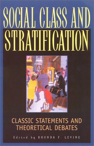 9780847685424: Social Class and Stratification
