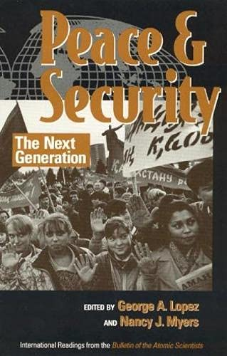 Peace and Security [Paperback] [Jan 01, 1997]: Lopez, George A.