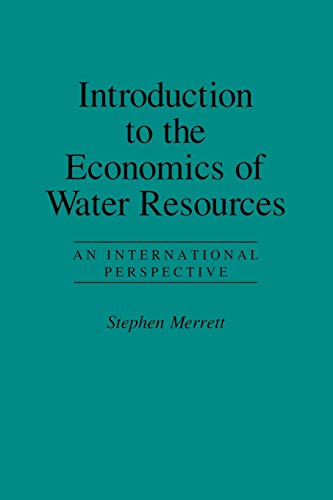 9780847687114: Introduction to the Economics of Water Resources
