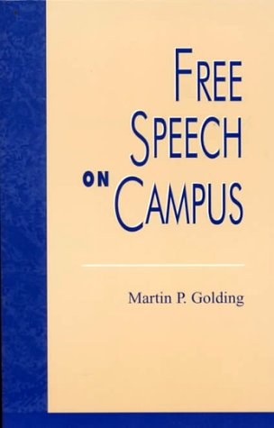 9780847687923: Free Speech on Campus (Issues in Academic Ethics)