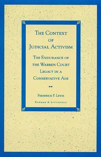 9780847689910: The Context of Judicial Activism