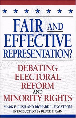 9780847692118: Fair and Effective Representation?