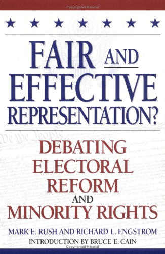 9780847692125: Fair and Effective Representation?
