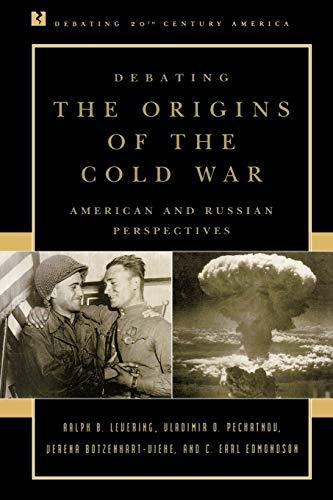 9780847694082: Debating the Origins of the Cold War: American and Russian Perspectives (Debating Twentieth-Century America)