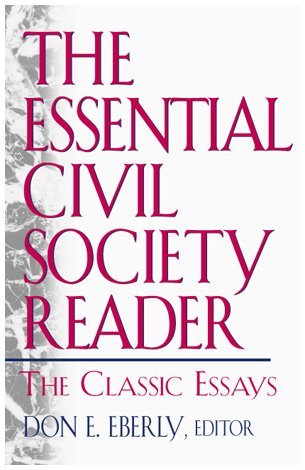 9780847697182: The Essential Civil Society Reader: The Classic Essays