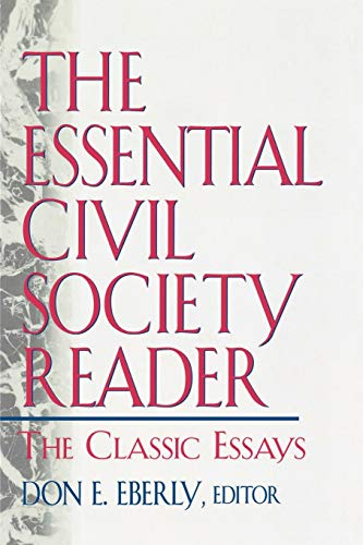 9780847697199: The Essential Civil Society Reader: The Classic Essays
