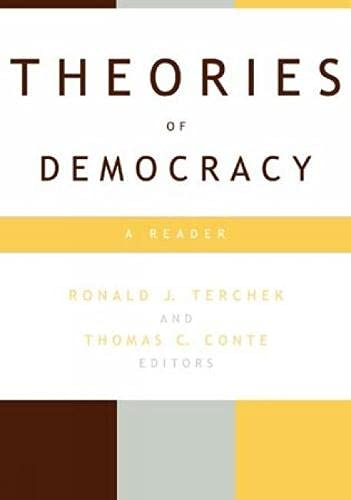 9780847697243: Theories of Democracy: A Reader