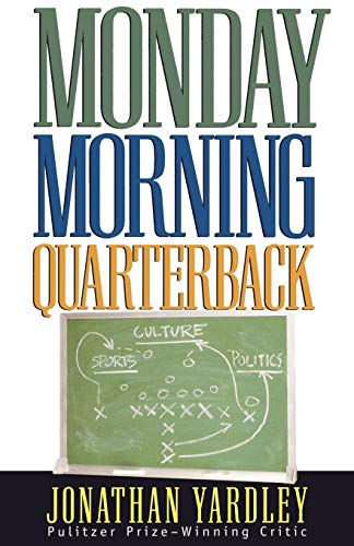 Monday Morning Quarterback: Yardley, Jonathan