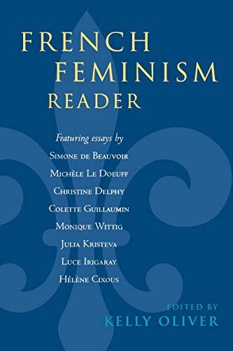 9780847697670: French Feminism Reader