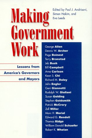 Making Government Work: Editor-Paul J. Andrisani;