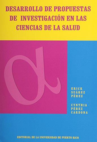 9780847701506: Desarrollo De Propuestas De Investigacion En Las Ciencias De LA Salud